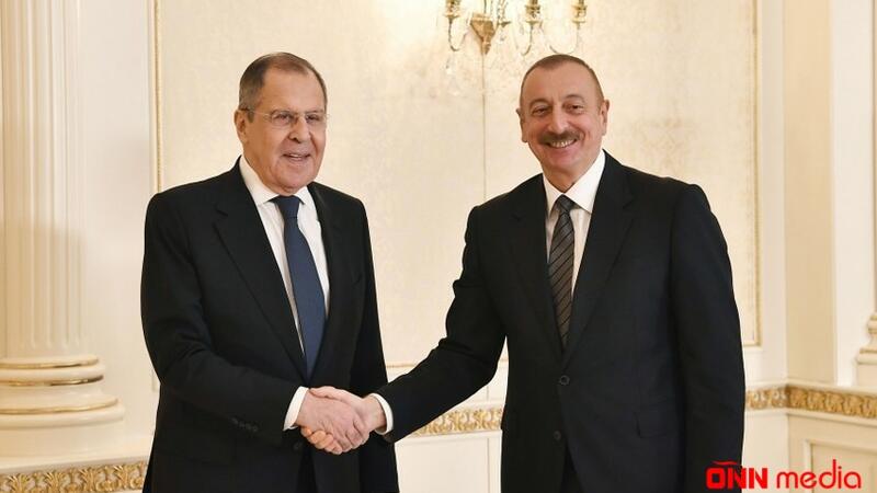 Prezident Sergey Lavrovu qəbul etdi