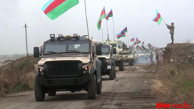 Azərbaycan Ordusu Ağdama bayrağımızı SANCDI