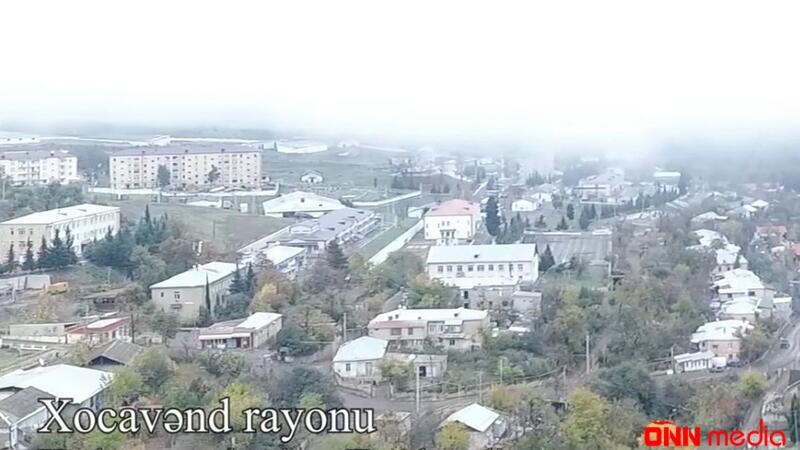 Xocavəndin Hadrut qəsəbəsi və Tuğ kəndi – VİDEO