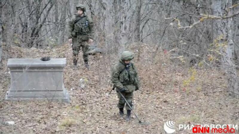 Rus istehkamçıları Xankəndidə – VİDEO
