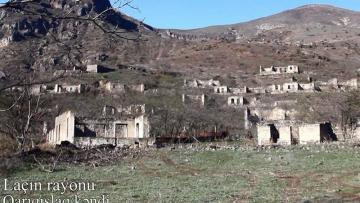 Laçının Qarıqışlaq kəndindən görüntülər – VİDEO
