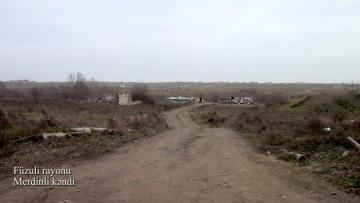 Füzuli rayonunun Merdinli kəndindən – MARAQLI VİDEOGÖRÜNTÜ