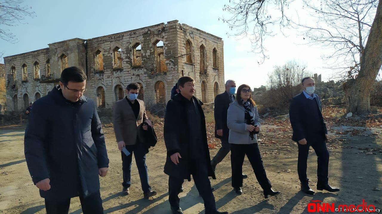Türk Şurasının nümayəndə heyəti Ağdamda