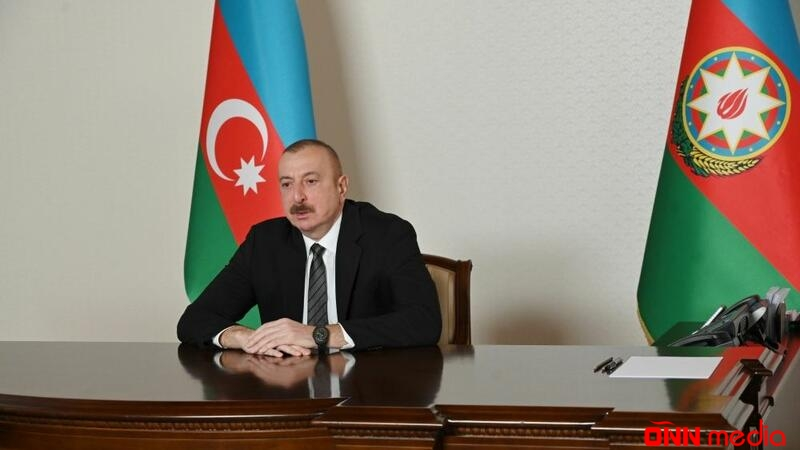 Prezident Bağdad Amreyevi videoformatda qəbul etdi