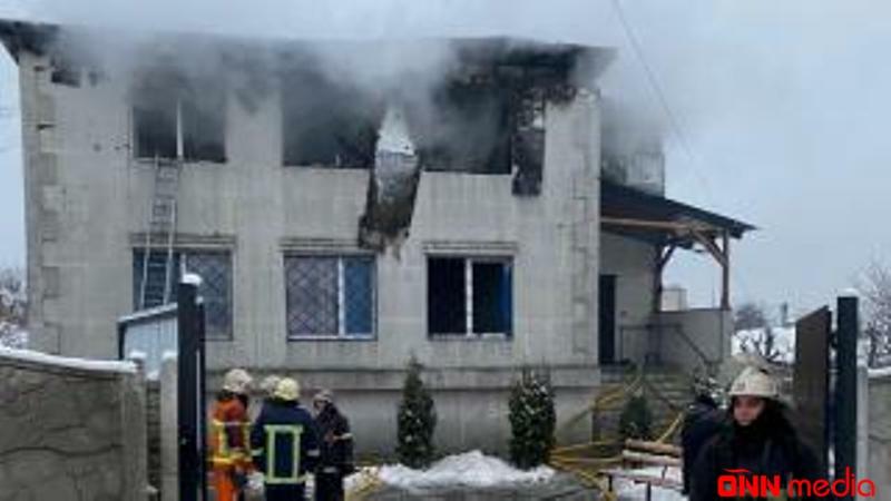 Ukraynada DƏHŞƏT YAŞANDI: 15 nəfər diri-diri yanaraq öldü