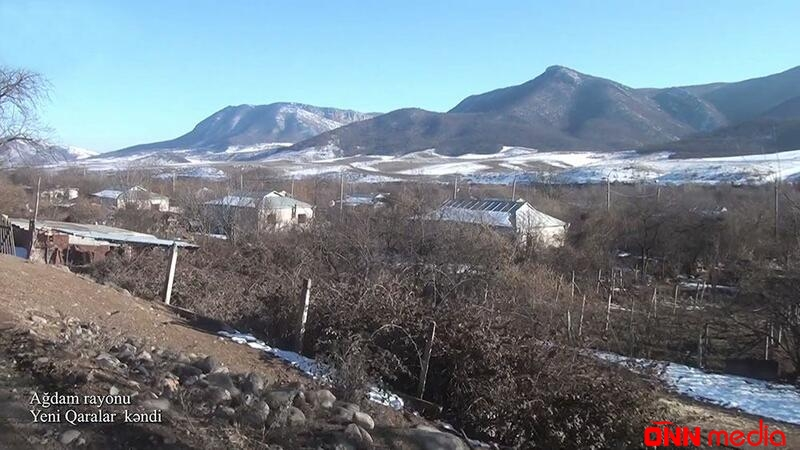Ağdamın Yeni Qaralar kəndi – VİDEO