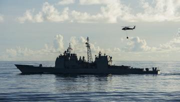 Türkiyə ilə sərhədə ABŞ gəmisi yanaşdı: 30 helikopter…