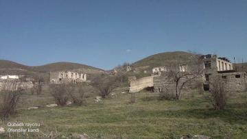 Qubadlının Əfəndilər kəndi – VİDEO