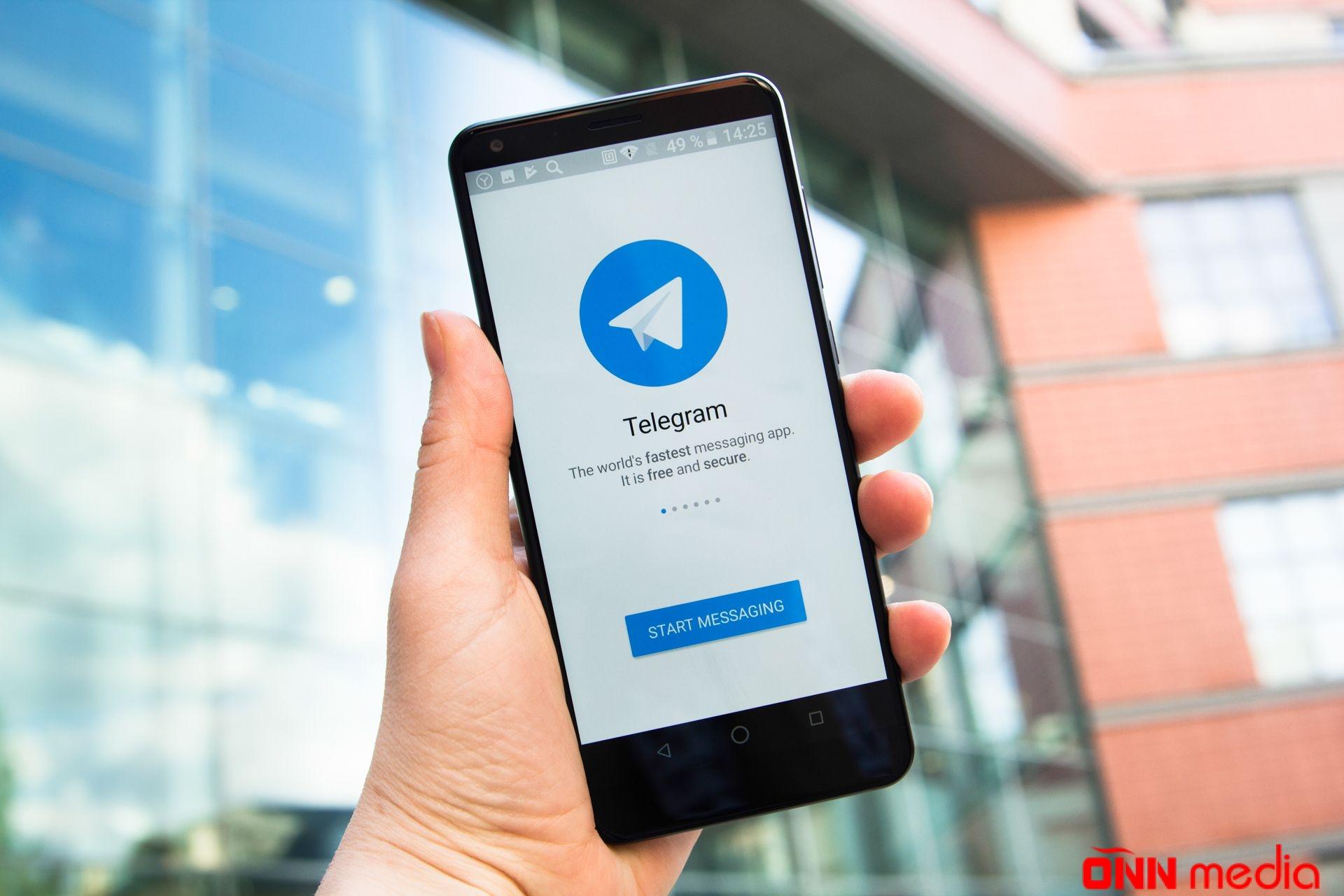 """""""Telegram""""da YENİLİK"""