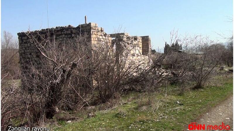 Zəngilanın Beşdəli kəndinin görüntüləri yayıldı – VİDEO
