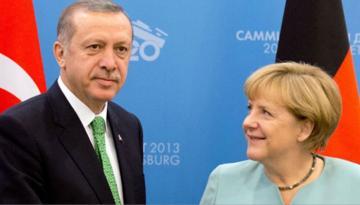 Ərdoğan və Merkel arasında mühüm görüş