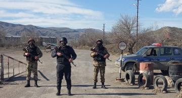 Qubadlı polisi vəzifə başında – VİDEO