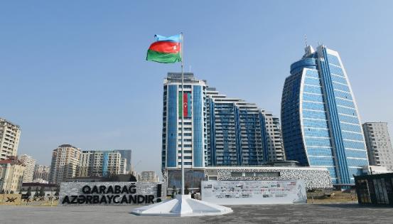 "Paytaxtın yeni prospekti: ""8 Noyabr"" – FOTOLAR"