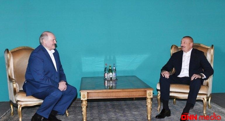 İlham Əliyev ilə Lukaşenkonun qeyri-rəsmi görüşü beş saat davam edib