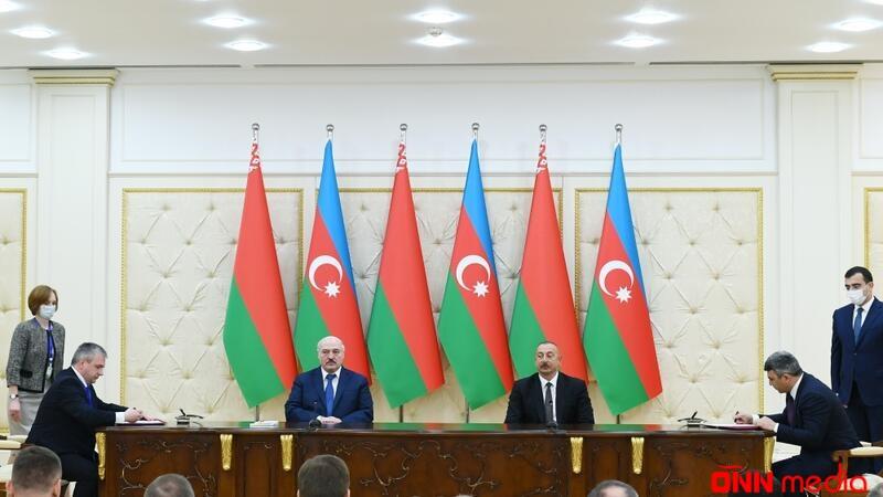 Azərbaycan-Belarus sənədləri imzalandı