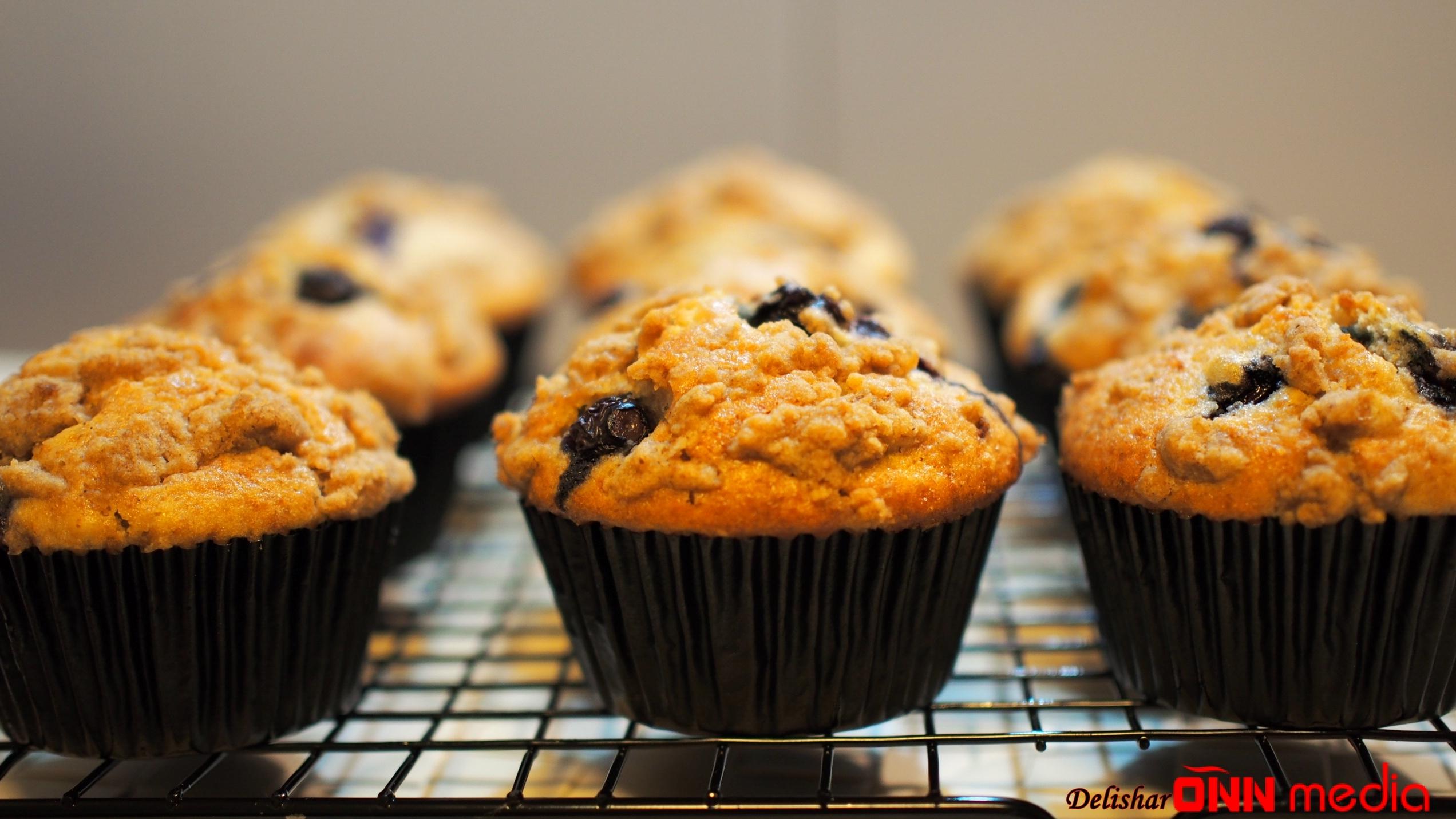 Boranılı muffin resepti