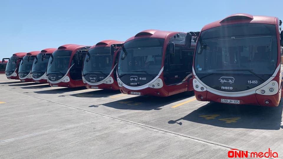 Yeni ekspress avtobuslar fəaliyyətə başladı