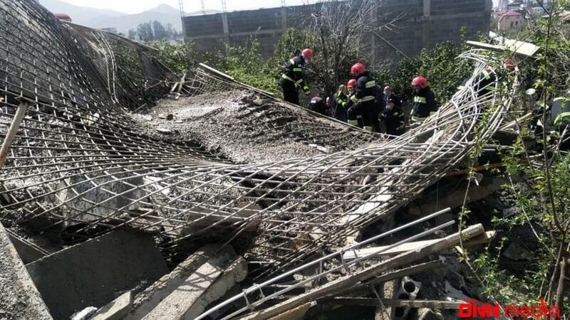 Batumidə yaşayış evi çökdü – Ölən və yaralananlar var