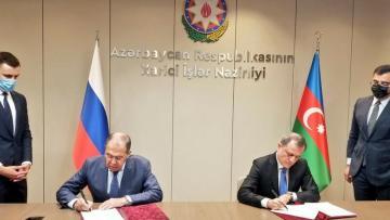 Azərbaycan və Rusiya arasında məsləhətləşmələr Planı imzalandı