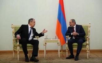 Lavrov Paşinyanla görüşdü – SON DƏQİQƏ