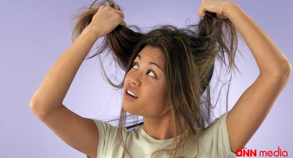 Yağlı saçlardan necə xilas olaq? – TƏBİİ MASKA
