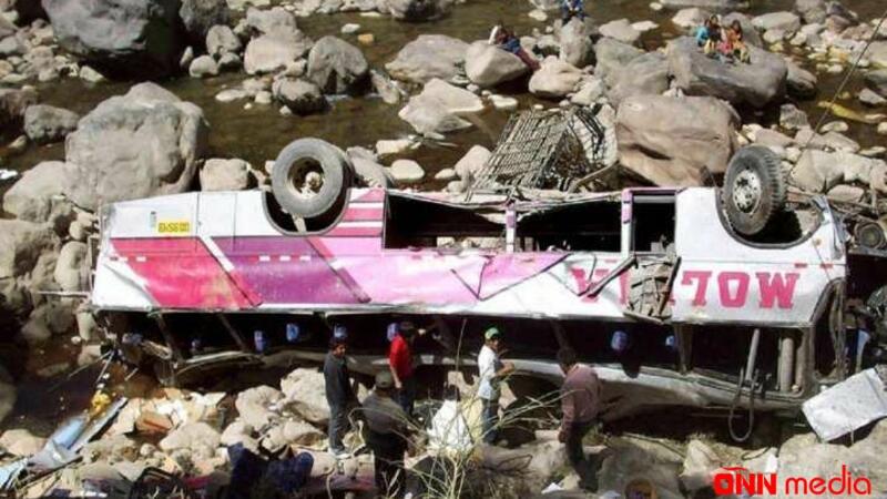 Pakistanda DƏHŞƏTLİ QƏZA: 13 nəfər həyatını itirdi
