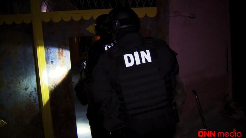 Azərbaycan polisi əməliyyat keçirdi – SAXLANILAN VAR