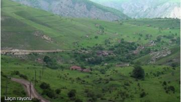 Laçının Ağbulaq kəndindən görüntülər – VİDEO