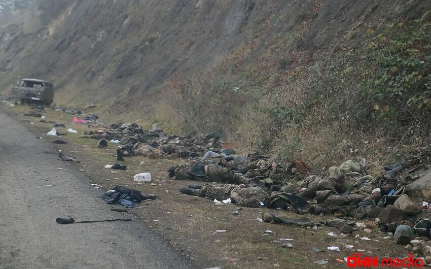 Qarabağda daha 8 erməni hərbçisinin qalıqları tapıldı