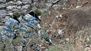 Qarabağda daha bir erməni hərbçisinin meyiti tapıldı