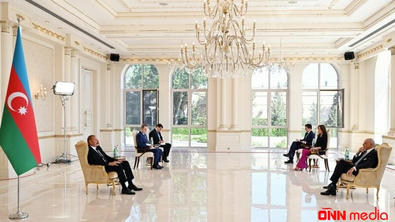 Prezident İtaliyanın yeni səfirinin etimadnaməsini qəbul etdi