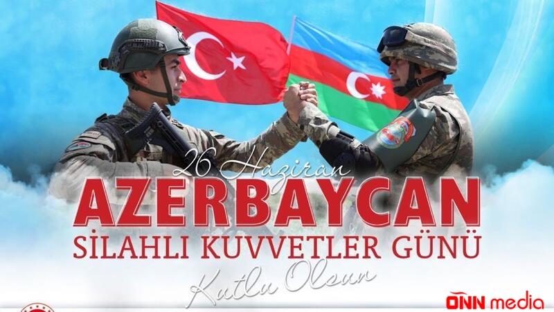 Türkiyə MN-dən Silahlı Qüvvələr Günü paylaşımı
