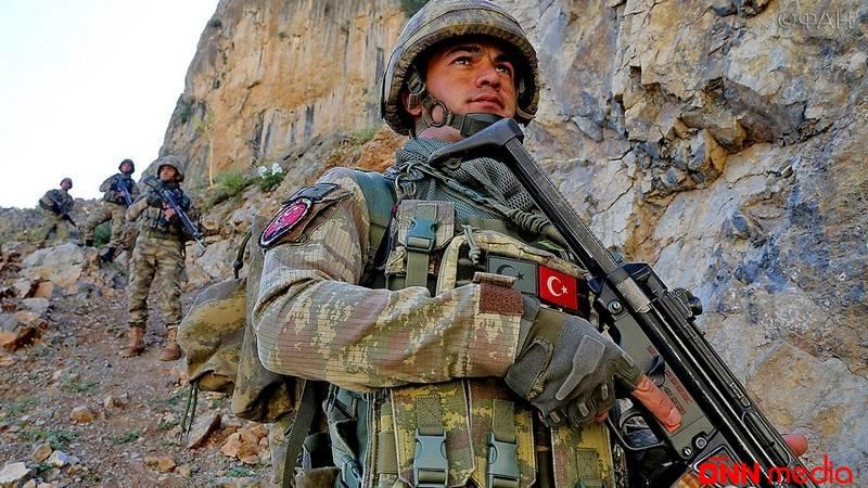Türkiyə ordusu terrorçuları məhv etdi