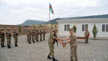 Ağdamda yeni hərbi hissə açıldı – VİDEO