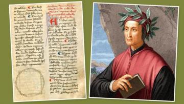 Dantenin XIII əsrin sonlarına aid əlyazmaları aşkarlandı