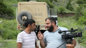 Şəhid jurnalistlər medalla təltif olundu