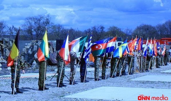 Hərbçilərimiz NATO təlimlərində