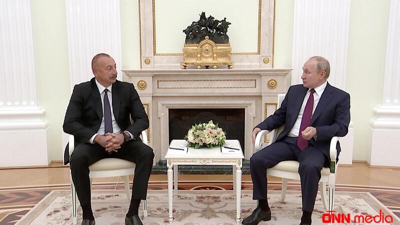 İlham Əliyevin Vladimir Putinlə görüşü başladı – YENİLƏNDİ