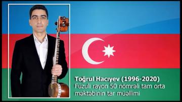 """""""Səhnədən səngərə"""" – Şəhid Toğrul Hacıyev"""
