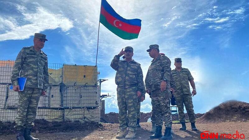 Zakir Həsənov Ermənistanla sərhəddə – VİDEO