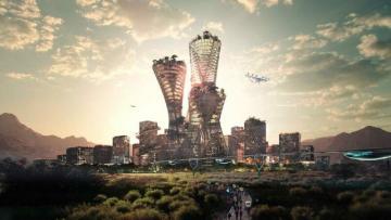 400 milyard dollarlıq şəhər qurulur