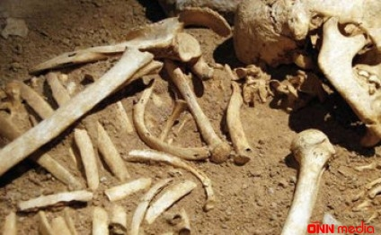 Ağdamda tikinti zamanı insan sümükləri tapıldı