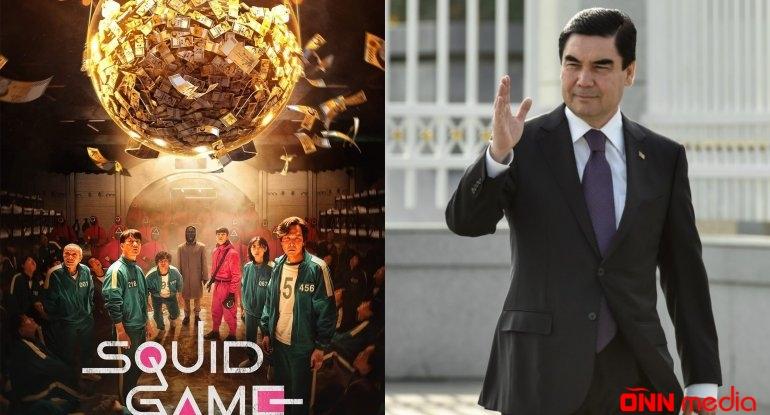 """Türkmənistan prezidenti: """"Squid game"""" serialının ssenarisini mən yazmışam"""""""