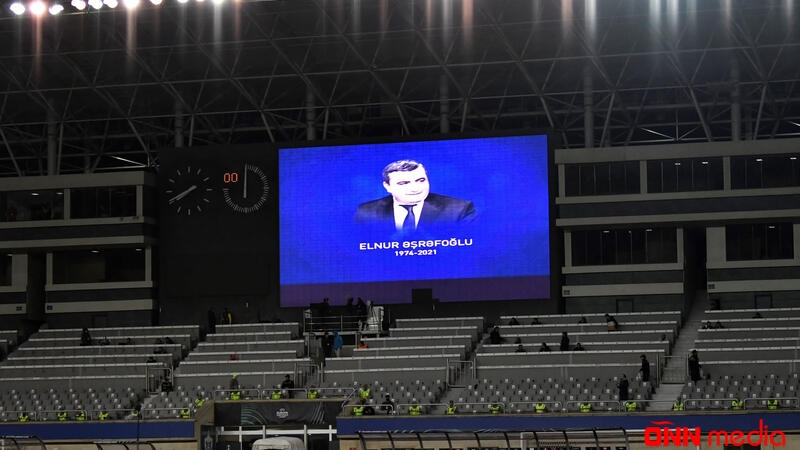 """""""Qarabağ""""ın oyunundan əvvəl Elnur Əşrəfoğlu anıldı"""