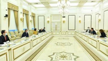 Sahibə Qafarova NATO nümayəndə heyəti ilə görüşdü