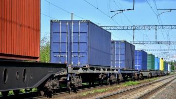 Qarabağa ilk konteyner blok qatarı yola salındı
