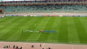 Azərbaycan – İrlandiya matçı başladı