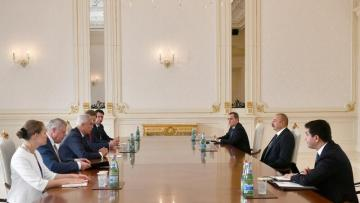 Prezident Slovakiyanın Xarici İşlər və Avropa nazirini qəbul etdi